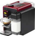 CHICCO D`ORO S22 - Machine Caffe capsule - La pression de la pompe: 15 bar - Rouge / Noir