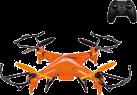 Infinity RC Drohne 40 cm 2.4G - Wasserdichte RC Drohne - 360° 3D Flug - Orange