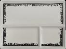 Heidi Cheese Line 26400002 - Assiettes à raclette - Céramique - Blanc