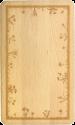 Heidi Cheese Line 90001800 - Planche à découper - Gravé - Bois