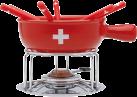 NOUVEL Käsefondue-Set CH-Kreuz