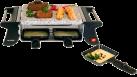 NOUVEL Raclette - Appareil à raclette 4-Grill - pour 4 personnes - 500 Watts - noir