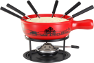 Nouvel Fondue fromage Set Wiese - Rouge