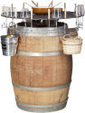 Nouvel Wein- und Fonduebar Outdoor - bis 18 Personen - Braun