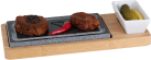 Nouvel Hot Stone Set - Bambus - Braun / Grau