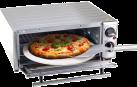 Nouvel Back und Pizza Ofen - 15 l - Silber