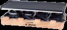 NOUVEL Wood Classic - Raclettegerät - Für 8 Personen - Schwarz/Braun