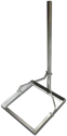 NIWOTRON Support de balcon - Chrome