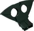 NIWOTRON Support pour Multifeed 3° - Noir