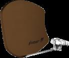 Visiosat Bisat-G2 - antenne satellite - brun