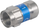 NIWOTRON F-Stecker Self-Install - 7 mm - 2 Stück