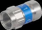 NIWOTRON F-Stecker Self-Install - 7 mm - 10 Stück