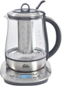 Solis 5515 - Tee- und Wasserkocher Digital - 1.2 l - Edelstahl/Glas