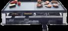 Solis 5 in 1 Table Grill - Tischgrill - 1400 Watt - Mit zuschaltbarer Unterhitze - Schwarz / Silber