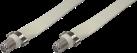 QUALIPRICE BN-102 - Cavo Ster-portante remota - 0.2 m - Bianco