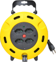 Schönenberger 85.3010.KB - enrouleur de câble électrique - 10m - 4x type 13 - jaune/noir
