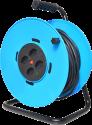 Schönenberger 85.3025.KB - enrouleur de câble électrique - 25m - 4x type 13 - bleu/noir