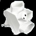 S-Electro Derivatore 3x T-13, bianco