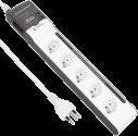 S ELECTRO Steckdosenleiste 5xT.13, 2xUSB, 1.5 m