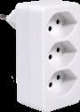S ELECTRO presa multipla 3 x T.13, bianco