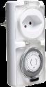 Schönenberger 87.3030 - Zeitschaltuhr mechanisch - Für Aussen IP44 - weiss