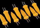 BBQ Dragon Spiedi per pannocchie di mais - 8 pezzi - Giallo