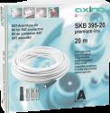 Axing SKB 395-20, 20 m - Antennenkabelsatz - Weiss