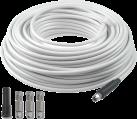 Axing SKB 395-20, 40 m - Antennenkabelsatz - Weiss