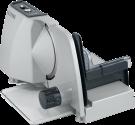rotel Vario Metallo 400 - Affettatrice - Costruzione in metallo di robustezza - argento
