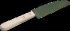 TTM Chef - Couteau à raclette - Avec revêtement anti-adhérant - Bois/Acier inoxydable