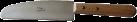 TTM Profi - Raclettemesser - 26 cm - Silber/Braun
