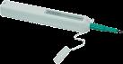 Value Stylet de nettoyage LWL One-Click - Pour 2.5 mm/SC connecteurs - Gris clair/Vert