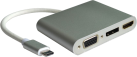 roline Typ C - VGA / HDMI / DP Adapter