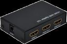 roline 14.01.3585 - HDMI Video-Splitter - Mit 4K - Schwarz