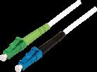 BLANK LWL-Kabel simplex 9/125 µm - 3 m - Weiss