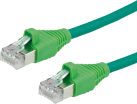DATWYLER 21.15.7533 - Câble Patch Cat 5e S/UTP - 30 m - Vert