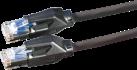 DATWYLER 21.05.0025 - Câble Patch Cat.6 S/FTP - 2 m - Noir