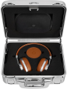 MASTER & DYNAMIC MW60 Halliburton Kit - Over-Ear Bluetooth Kopfhörer - 16 Stunden Akkulaufzeit - Braun/silber