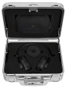 MASTER & DYNAMIC MW60 Halliburton Kit - Over-Ear Bluetooth Kopfhörer - 16 Stunden Akkulaufzeit - Schwarz