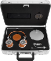 MASTER & DYNAMIC Zero Halliburton Kit MH40 + ME05 - Over-Ear + In-Ear Kopfhörer - Braun-Silber / Schwarz-Messing