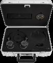 MASTER & DYNAMIC Zero Halliburton Kit MH40 + ME05 - Over-Ear + In-Ear Kopfhörer - Gunmetal / Schwarz-Palladium