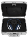 MASTER & DYNAMIC MW60 Halliburton Kit - Over-Ear Bluetooth Kopfhörer - 16 Stunden Akkulaufzeit - Navy Blau/Silber