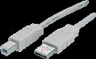 Maxxtro USB 2.0 cavo USB tipo A-spina USB tipo B-spina, 1.8 m