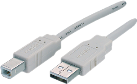 Maxxtro USB 2.0 cable USB Typ A-Fiche USB Typ B-Fiche, 1.8 m