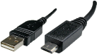 Maxxtro Micro USB 2.0 Kabel USB Typ A-Stecker USB Micro-B-Stecker, 0.5 m