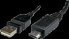 Maxxtro Câble micro USB 2.0 USB Typ A-Fiche USB Micro-B-Fiche, 0.5 m