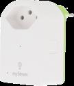 myStrom WLAN Energy Control Switch 2 - Funk-Steckdose - Weiss/Grün
