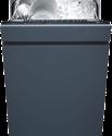 V-ZUG GS60SVi - Einbau Geschirrspüler - Restzeitangabe - Energieeffizienz A+++ - Schwarz