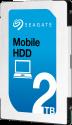 SEAGATE Mobile HDD - Hard Disk interno - Capacità 2 TB - Argento