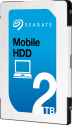 SEAGATE Mobile HDD - Interne Festplatte - Kapazität 2 TB - Silber
